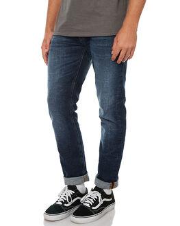DARK FUZZ MENS CLOTHING NUDIE JEANS CO JEANS - 112522DFUZ