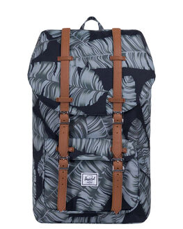 BLACK PALM MENS ACCESSORIES HERSCHEL SUPPLY CO BAGS - 10014-01984-OSBKPAL