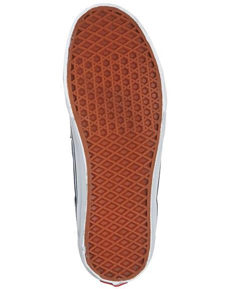 NAVY WOMENS FOOTWEAR VANS SNEAKERS - SSVN-0D5INVYW