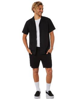 BLACK MENS CLOTHING NO NEWS SHORTS - N5184235BLACK