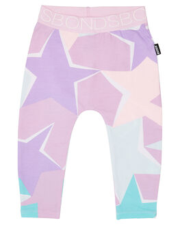 ABSTRACT STAR PINK POSY KIDS BABY BONDS CLOTHING - BXW4A3JG