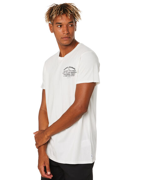 OFF WHITE MENS CLOTHING BANKS TEES - WTS0434OWH