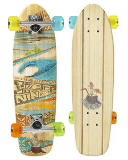 BAMBOO SKATE COMPLETES SECTOR NINE  - BBS151CB18
