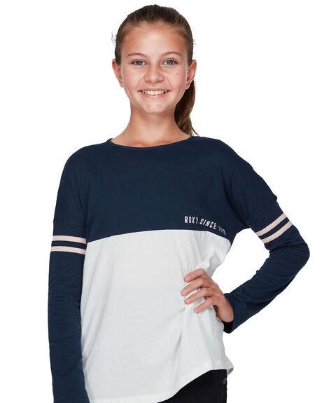 DRESS BLUES KIDS GIRLS ROXY TOPS - ERGZT03337BTK0