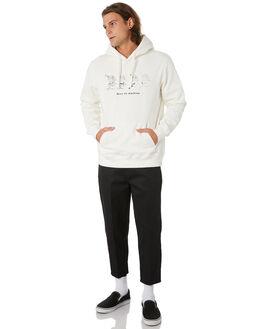 VINTAGE WHITE MENS CLOTHING DEUS EX MACHINA JUMPERS - DMF98955VNWHT