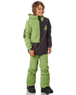 FOREST GREEN BOARDSPORTS SNOW RIP CURL KIDS - SKJAT40056