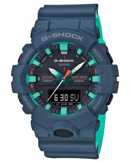 MATTE NAVY MENS ACCESSORIES G SHOCK WATCHES - GA-800CC-2ADRMNVY