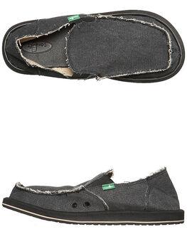 CHARCOAL MENS FOOTWEAR SANUK SLIP ONS - SMF1001CHAR