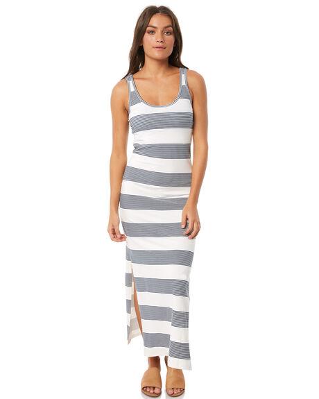 MALLOW DRESS BLUE WOMENS CLOTHING ROXY DRESSES - ERJKD03194WBT4