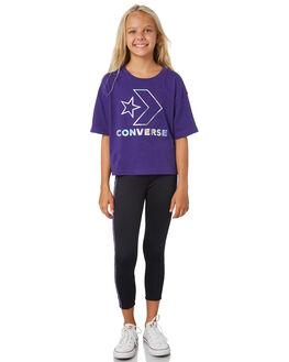 COURT PURPLE KIDS GIRLS CONVERSE TOPS - R468987P51