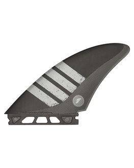 BLACK GREY BOARDSPORTS SURF FUTURE FINS FINS - QCA-011503BLKGY