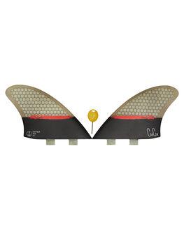 BLACK BOARDSPORTS SURF CAPTAIN FIN CO. FINS - CFF3411501BLK