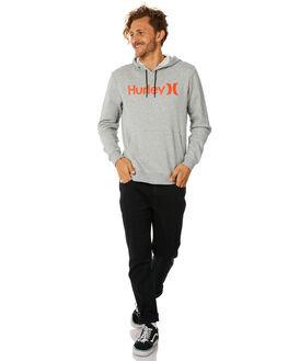 DARK GREY MENS CLOTHING HURLEY JUMPERS - AQ0773064