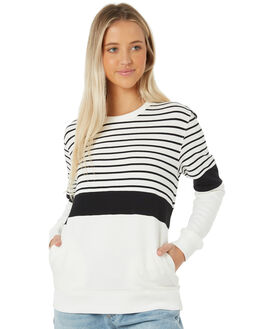 WHITE WOMENS CLOTHING SWELL JUMPERS - S8183552WHITE
