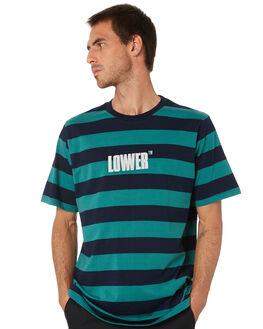 BLUE GREEN MENS CLOTHING LOWER TEES - LO20Q1MTS15BLBRN
