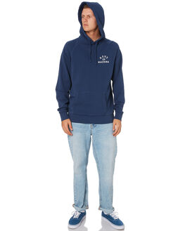 MID BLUE MENS CLOTHING DEUS EX MACHINA JUMPERS - DMW98027BMDBLU