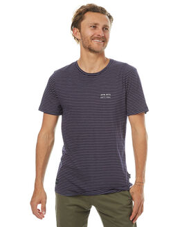 NAVY MENS CLOTHING RPM TEES - 7PMT01CNVY