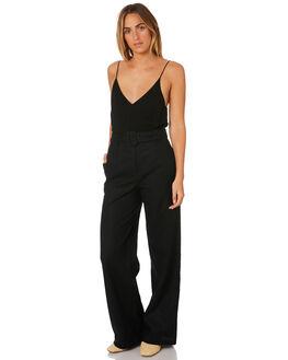 BLACK WOMENS CLOTHING MINKPINK PANTS - MP1806530BLACK
