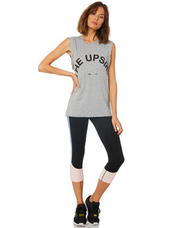 GREY MARLE WOMENS CLOTHING THE UPSIDE SINGLETS - UPL1286GGRY