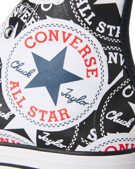 BLACK MENS FOOTWEAR CONVERSE SNEAKERS - 166985CBLK