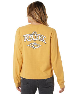 MUSTARD WOMENS CLOTHING RIP CURL TEES - GTEDE21041