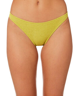CHARTREUSE WOMENS SWIMWEAR SOMEDAYS LOVIN BIKINI BOTTOMS - SS1806392CHTS