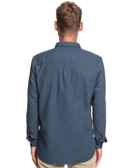 BLUE NIGHTS MENS CLOTHING QUIKSILVER SHIRTS - EQYWT03788-BST0