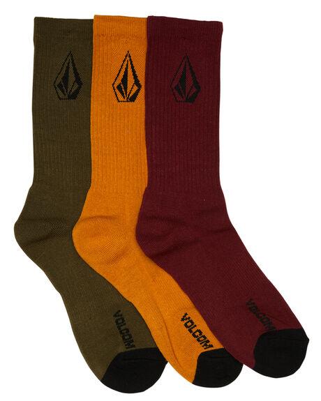 MULTI MENS CLOTHING VOLCOM SOCKS + UNDERWEAR - D6341800MLT