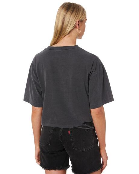 VINTAGE BLACK WOMENS CLOTHING THE PEOPLE VS TEES - W20W002VBLK