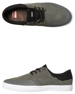 CHARCOAL MENS FOOTWEAR GLOBE SKATE SHOES - GBCHASE-15024