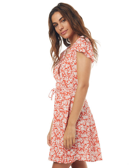 RED BLOSSOM WOMENS CLOTHING ROLLAS DRESSES - 124203211