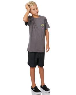 DARK GREY KIDS BOYS RIP CURL TOPS - KTEVO21221