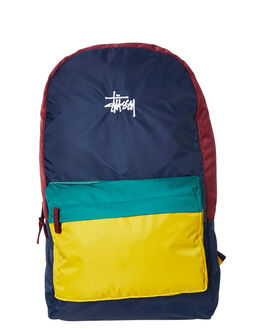 MUSTARD NAVY MENS ACCESSORIES STUSSY BAGS + BACKPACKS - ST705028MNVY