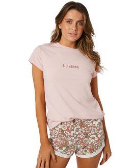 ASH ROSE WOMENS CLOTHING BILLABONG TEES - 6581135ASHR