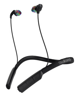 BLACK SWIRL GRAY MENS ACCESSORIES SKULLCANDY AUDIO + CAMERAS - S2CDW-J523BLK