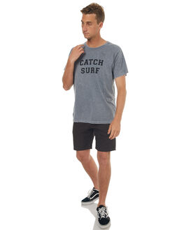 SMOKE WASH MENS CLOTHING CATCH SURF TEES - A6TEE034SWSH