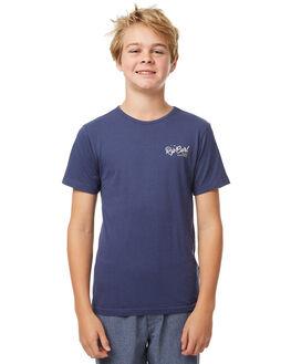 VINTAGE NAVY KIDS BOYS RIP CURL TEES - KTEDQ29435