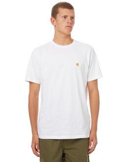 WHITE MENS CLOTHING CARHARTT TEES - IO219490290