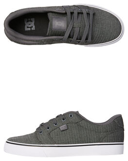 GREY ASH MENS FOOTWEAR DC SHOES SNEAKERS - ADYS300036GRA