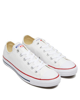 WHITE WOMENS FOOTWEAR CONVERSE SNEAKERS - SS132173WHIW