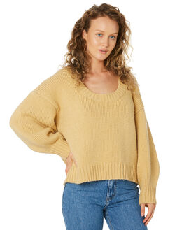 SUNSHINE YELLOW WOMENS CLOTHING ZULU AND ZEPHYR KNITS + CARDIGANS - ZZ2578SSUNYL
