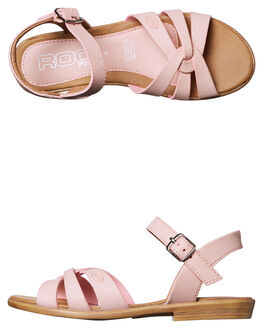 DUSTY PINK KIDS GIRLS ROC BOOTS AUSTRALIA FASHION SANDALS - DTH1117-05DPINK