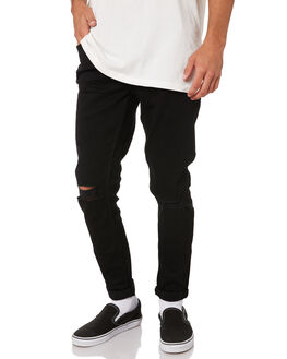 DARKNIGHT BLACK MENS CLOTHING LEE JEANS - L-601541-CP1DKBLK