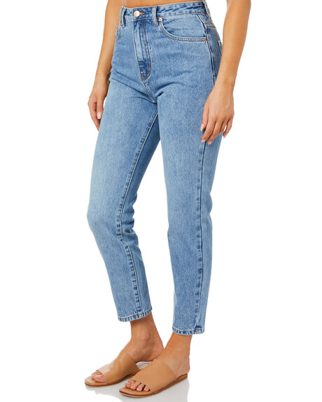 MID BLUE WOMENS CLOTHING INSIGHT JEANS - 1000090398MDBL