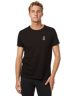BLACK MENS CLOTHING CHEAP MONDAY TEES - 0441356BLK
