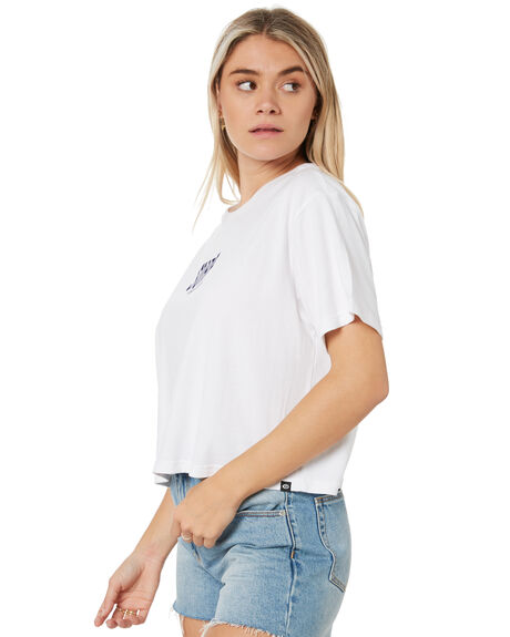 WHITE WOMENS CLOTHING RIP CURL TEES - GTEIT91000