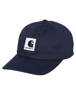 DARK NAVY WAX MENS ACCESSORIES CARHARTT HEADWEAR - I0263211C