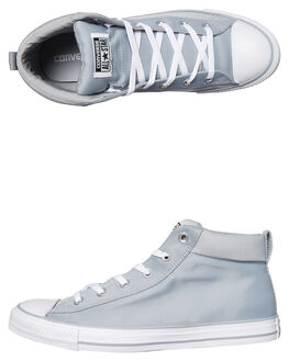 WOLF GREY WHITE MENS FOOTWEAR CONVERSE SNEAKERS - 159604GRY
