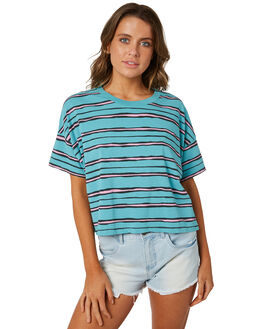 REAL TEAL WOMENS CLOTHING BILLABONG TEES - 6582132RLT