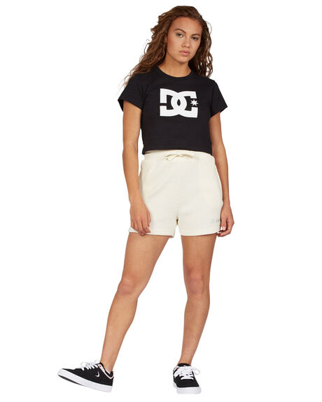ANTIQUE WHITE WOMENS CLOTHING DC SHOES SHORTS - ADJNS03002-WCL0